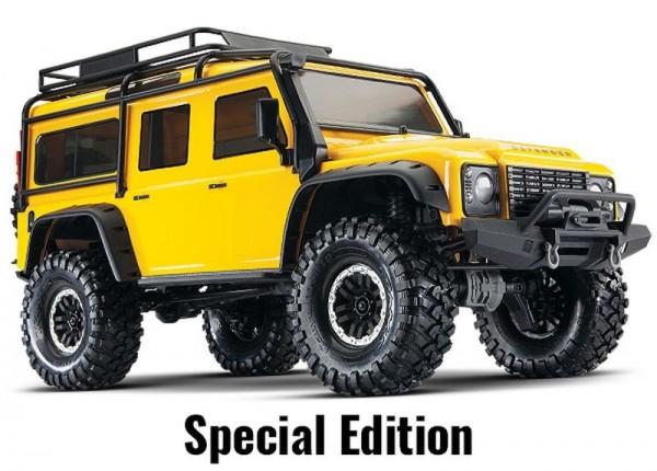 TRAXXAS TRX-4 Land Rover Gelb Special Edition
