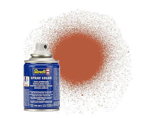 Spray braun, matt