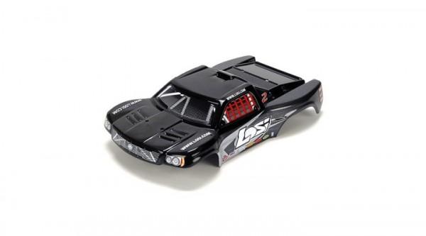 1/24 4WD Short Course Karosserie. schwarz