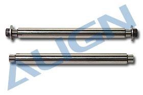 T-REX 550/600 Hauptrotorblattlagerwelle 2Stk
