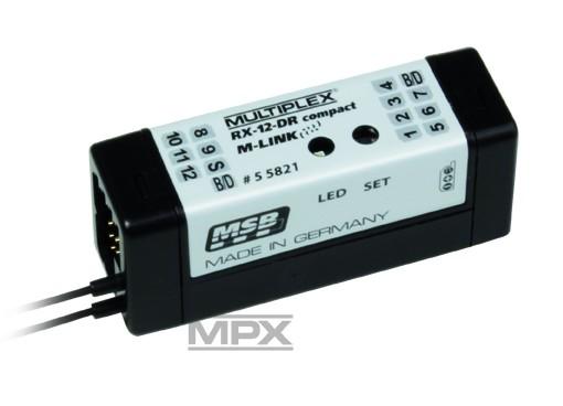 Empfänger RX-12-DR compact M-LINK 2,4 GHz