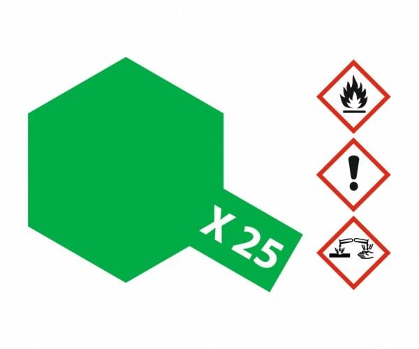X-25 Klar-Grün glänzend 23 ml