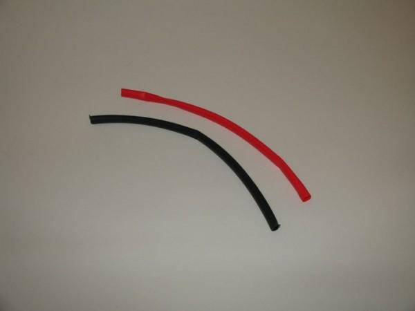 Schrumpfschlauch schwarz/rot 4,8mm je ca. 20cm