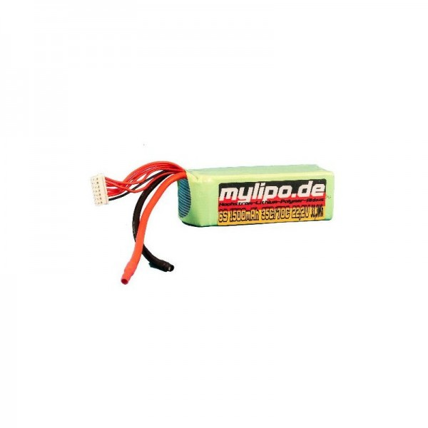 mylipo 3S 1500mAh (Kabel) 35/70C
