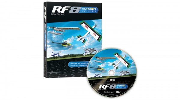 RF8 Horizon Hobby Edition Nur Software
