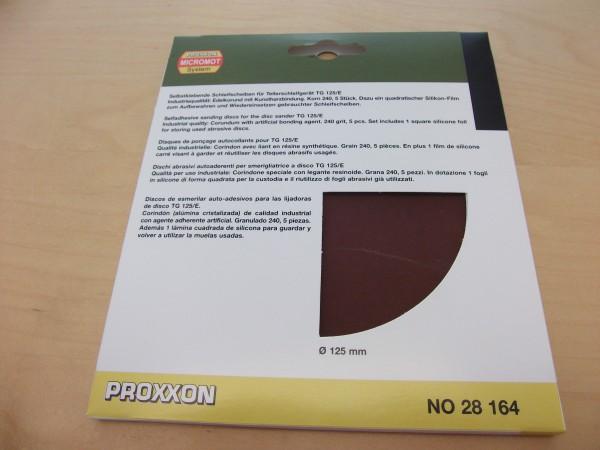 EK Schleifscheiben für TG 125/E, Korn 240