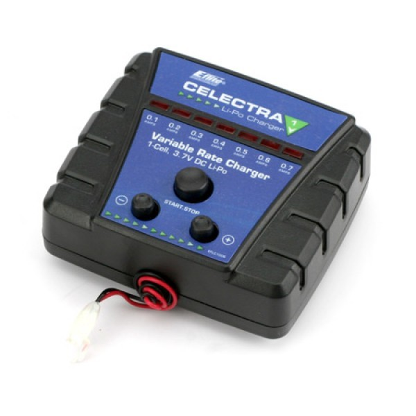 Celectra 1S 3.7 Variable Rate DC Li-Po Charger: mC