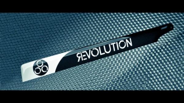 Revolution 690 FBL 3D Carbon Hauptrotorblätter